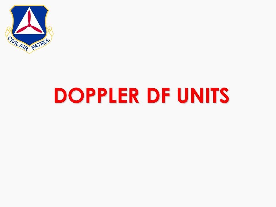 DOPPLER DF UNITS