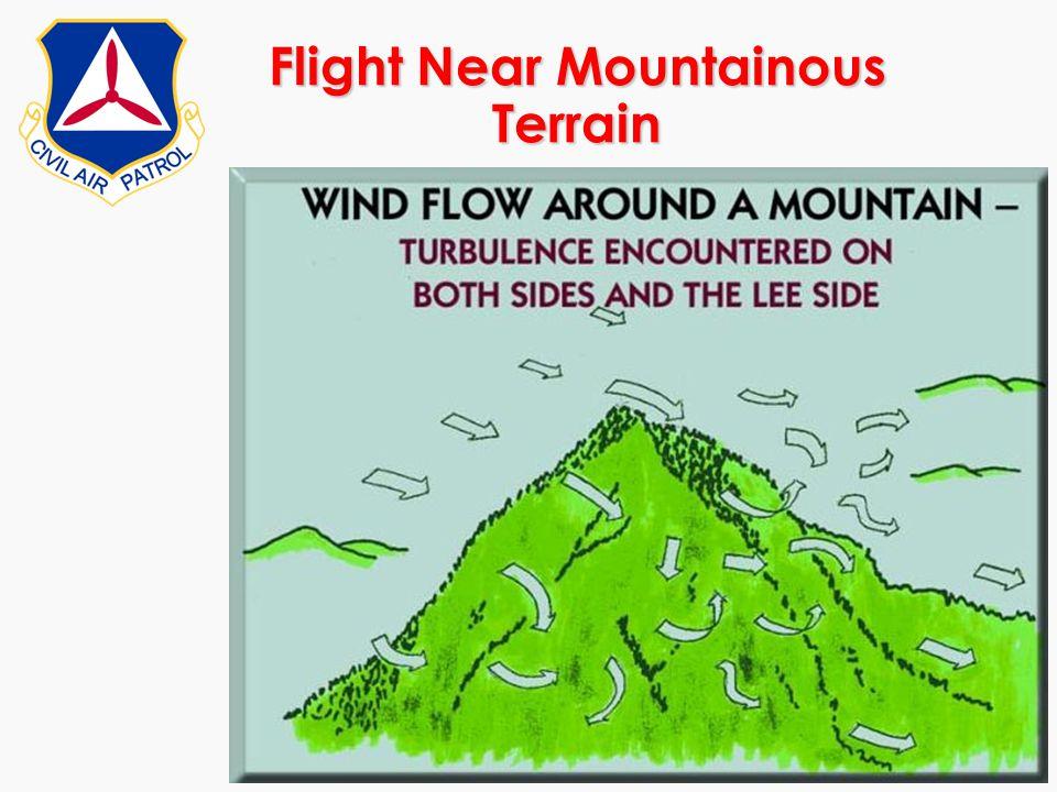 Flight Near Mountainous Terrain