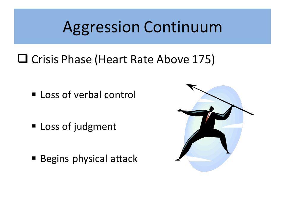Aggressive Behavior Types Some forms of aggressive behavior are less overt.