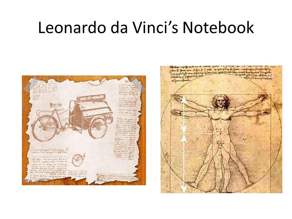 Leonardo da Vinci's Notebook