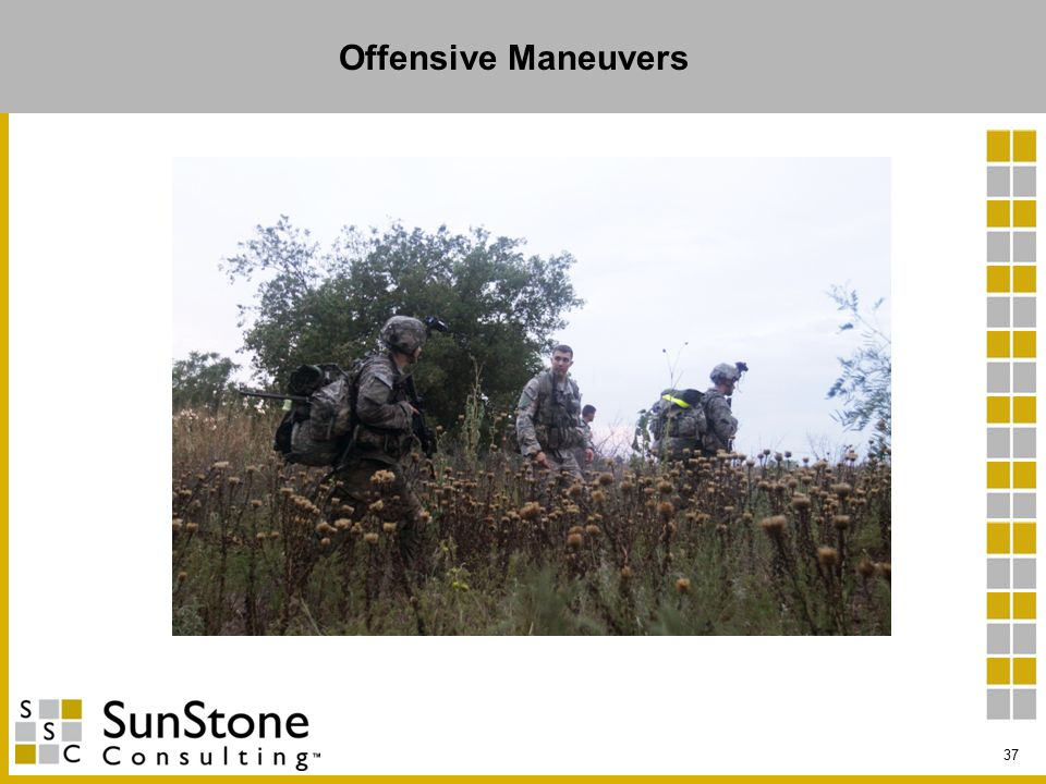 Offensive Maneuvers 37