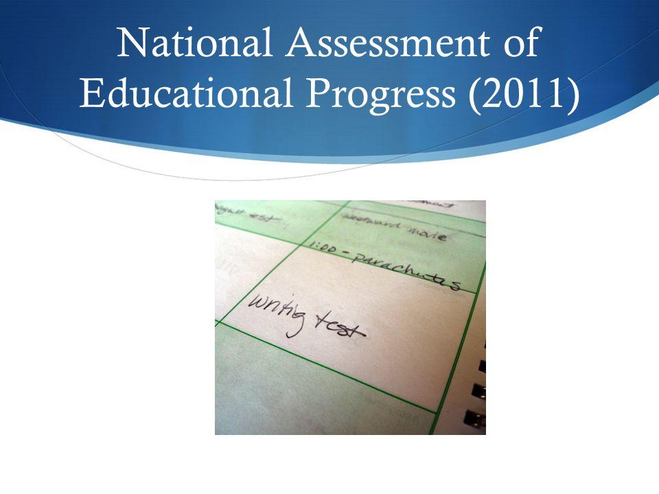 National Assessment of Educational Progress (2011)