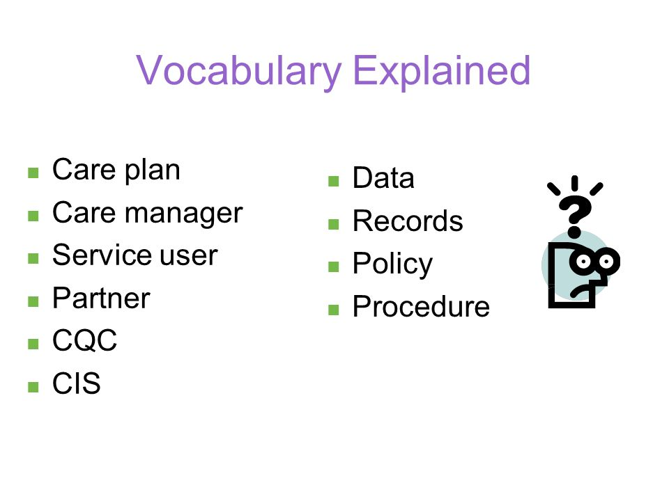 Common Induction Standards What are the common induction standards.