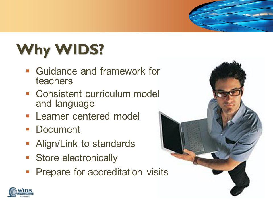Why WIDS.
