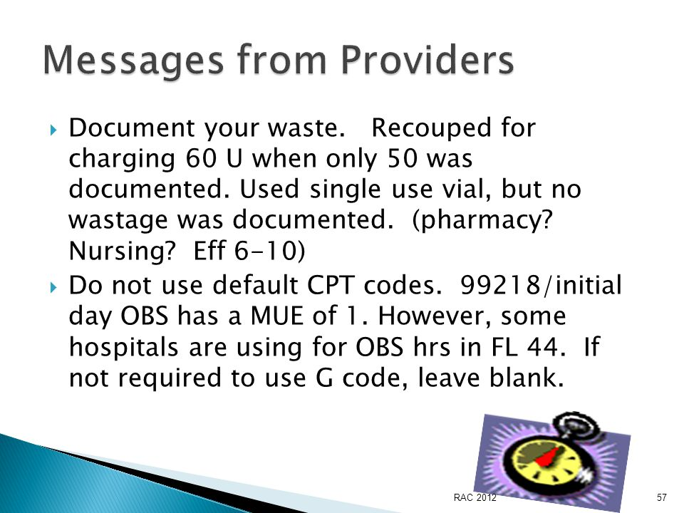  Document your waste. Recouped for charging 60 U when only 50 was documented.
