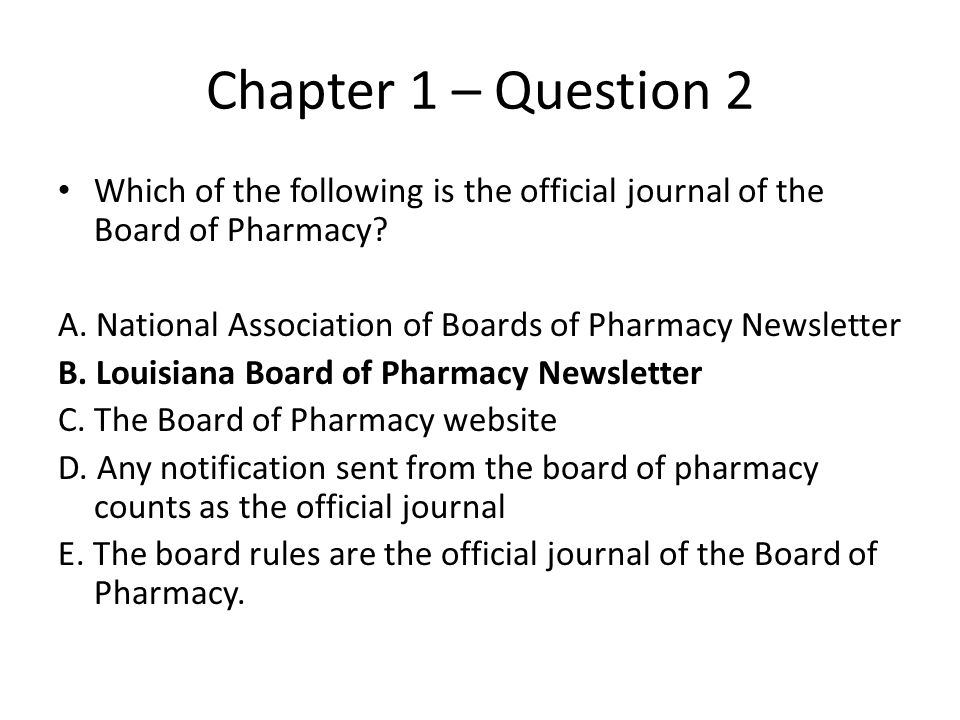 Chap 5, 7, 9 Question 22 A prescription acting as an authority to administer expires after being written A.