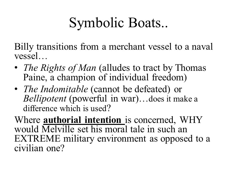 Symbolic Boats..