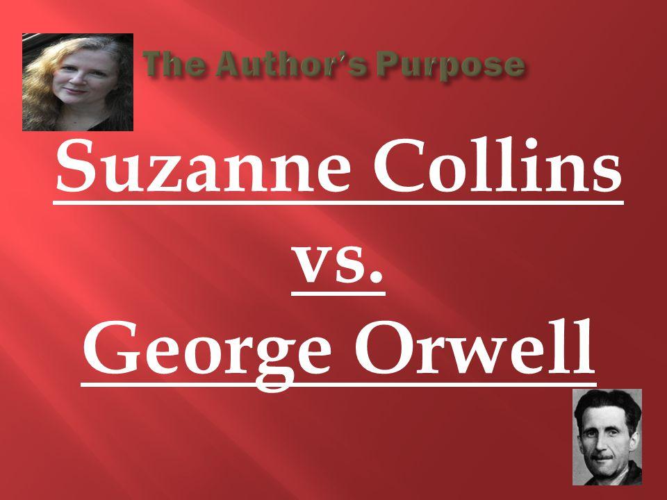 Suzanne Collins vs. George Orwell