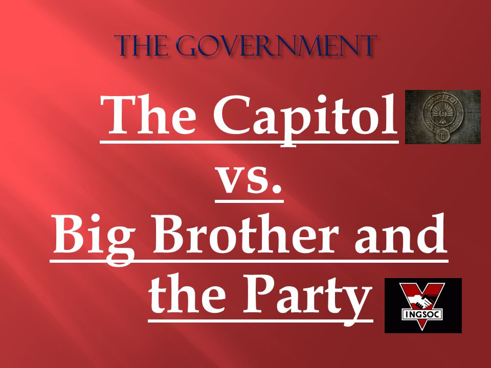 The Capitol vs. Big Brother and the Party