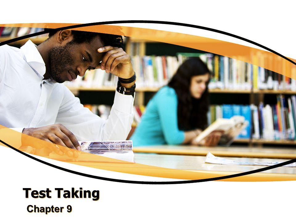 Strategies for Test Preparation