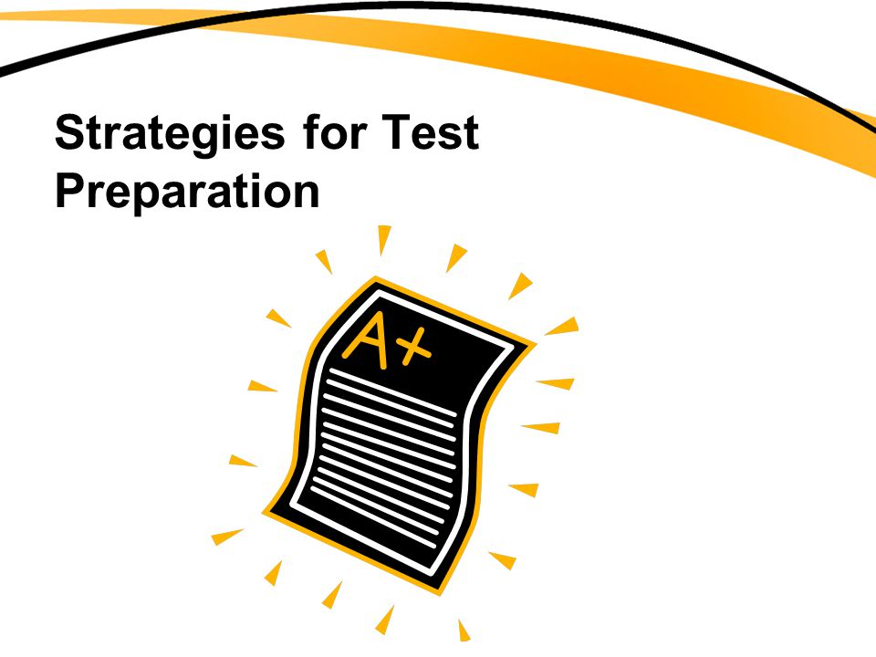 When tests are returned: Use them as feedback for future study –Do you need to improve your study techniques?