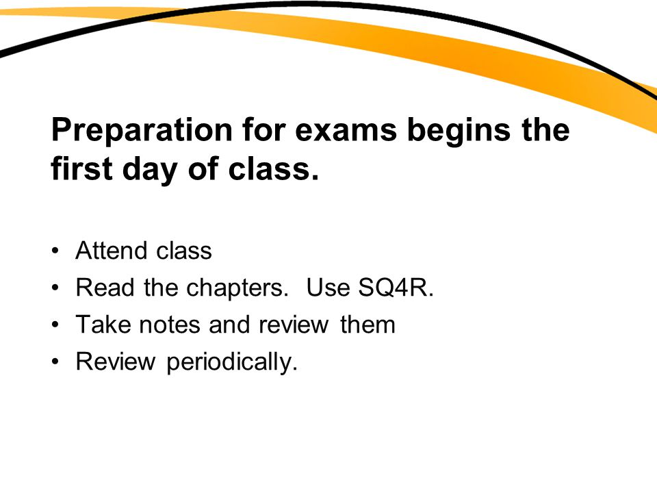Use the first test as a guide on what to study on the next test.