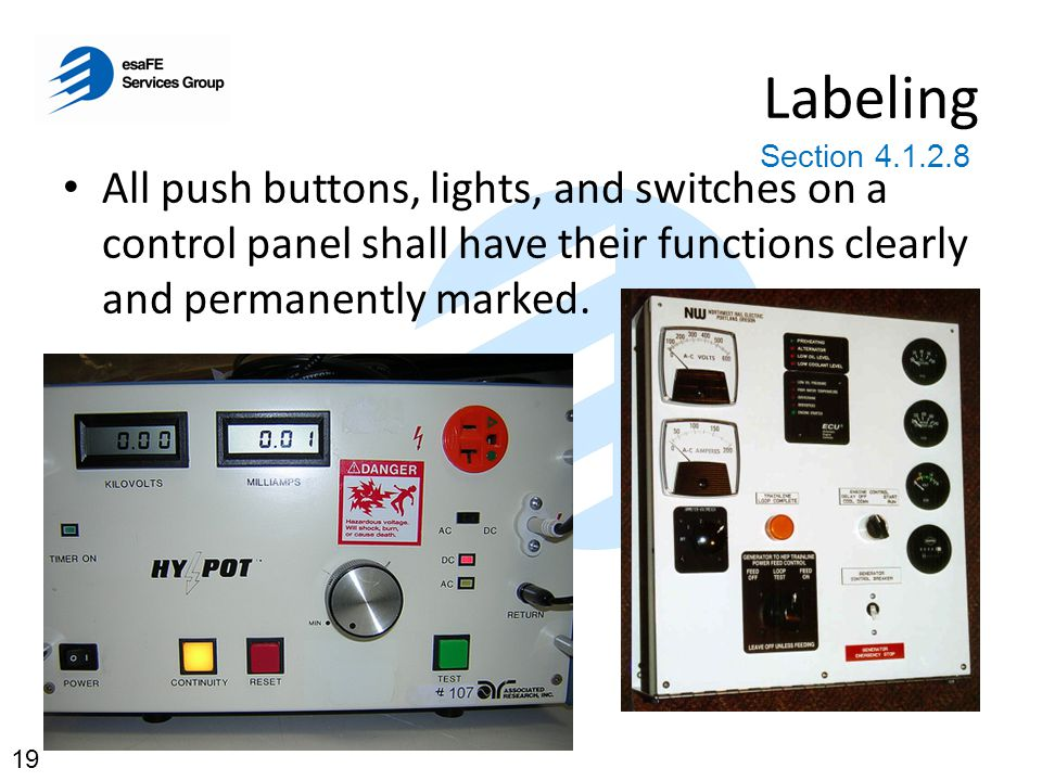 Safety and Protection 3.2.1 (c) now states: limit leakage current to the equipment body such that no shock hazard exists.