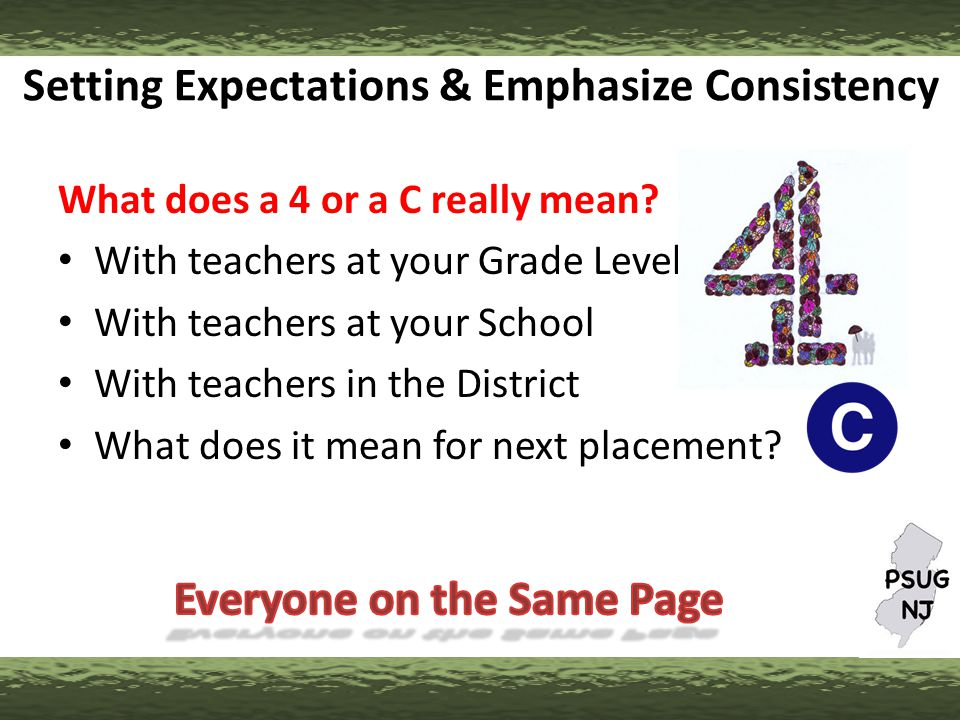 How Grades Flow….