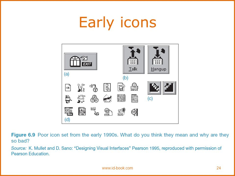 Early icons www.id-book.com24