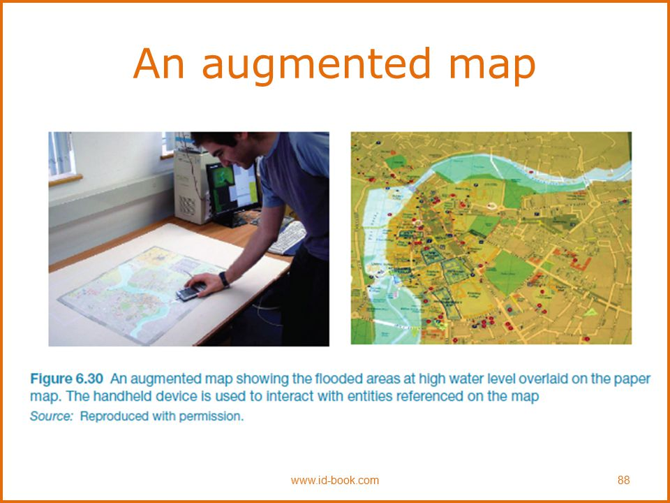 An augmented map www.id-book.com88