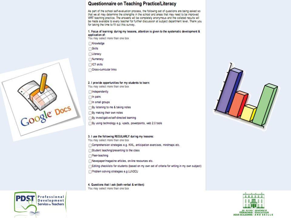 Sample questionnaire for teachers