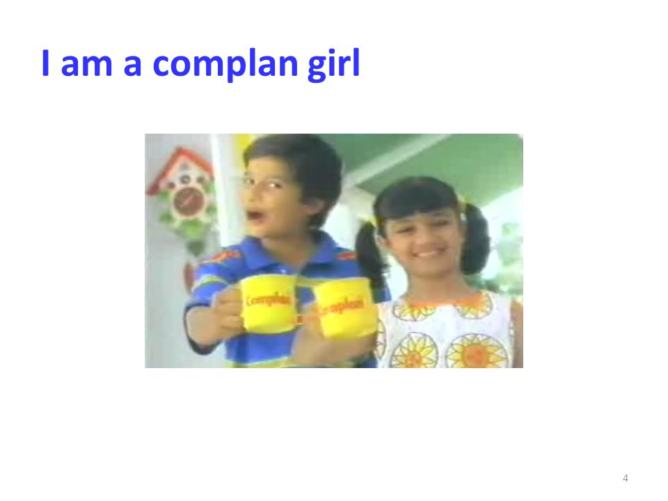 I am a complan girl 4
