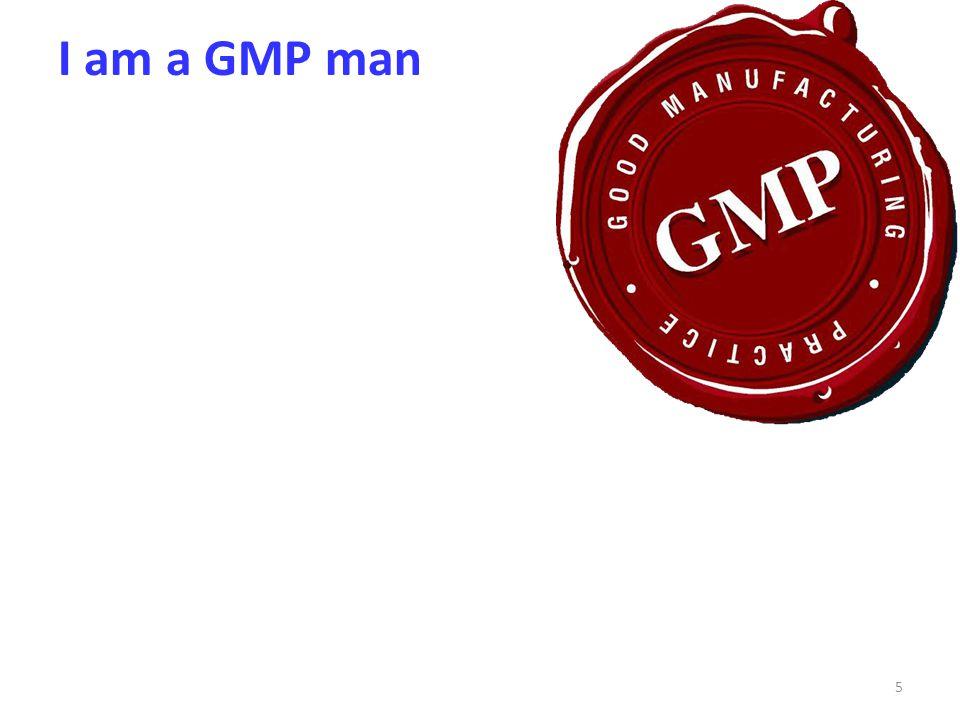 I am a GMP man 5