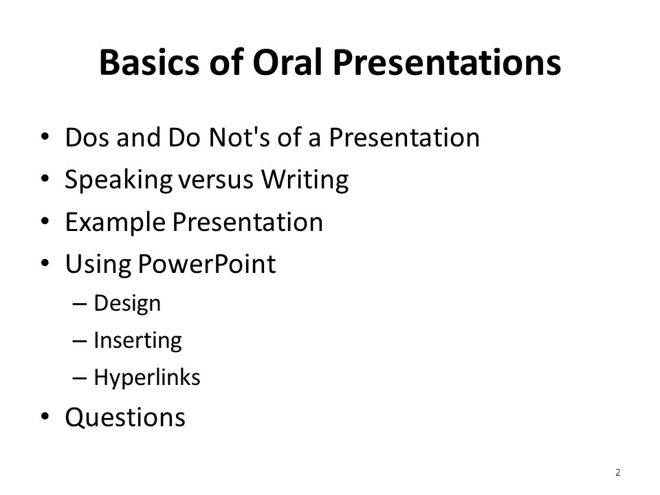 Basics of Oral Presentations Mike Wheels Breakey College Success Instructor Georgia Northwestern Technical College
