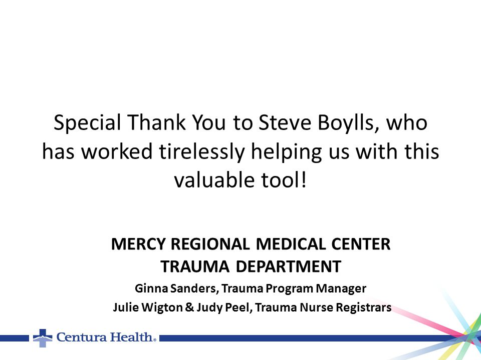 Special Thank You to Steve Boylls, who has worked tirelessly helping us with this valuable tool.