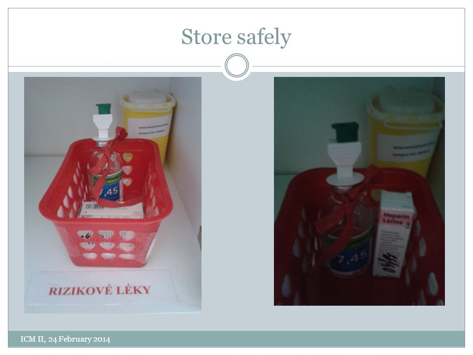 Store safely ICM II, 24 February 2014