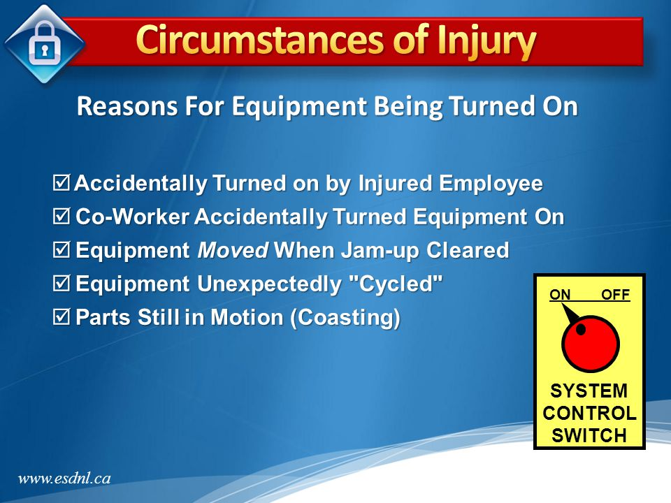 www.esdnl.ca The following examples illustrate tampered lockout hasps.