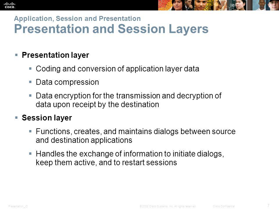Presentation_ID 38 © 2008 Cisco Systems, Inc.