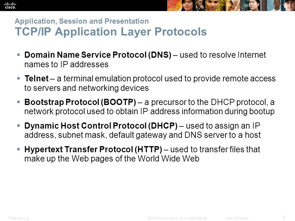 Presentation_ID 10 © 2008 Cisco Systems, Inc.