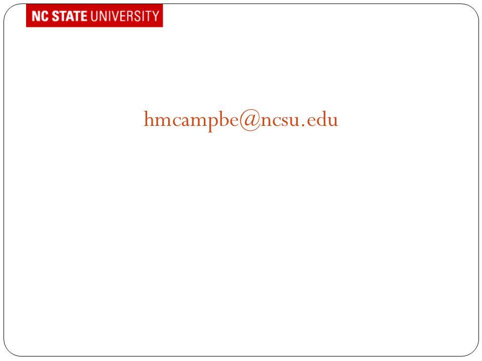 hmcampbe@ncsu.edu