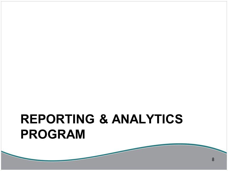 Reporting and Analytics Program