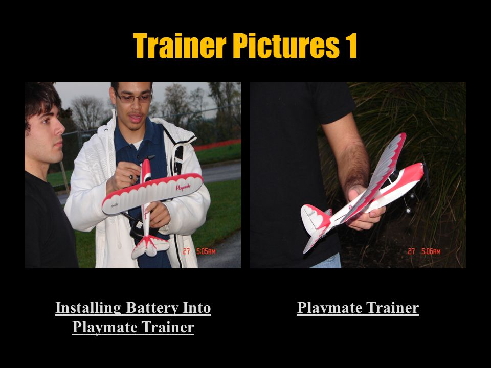 Learn How To Fly Trainer  Goal: Fly Trainer Around Post And Land Safety