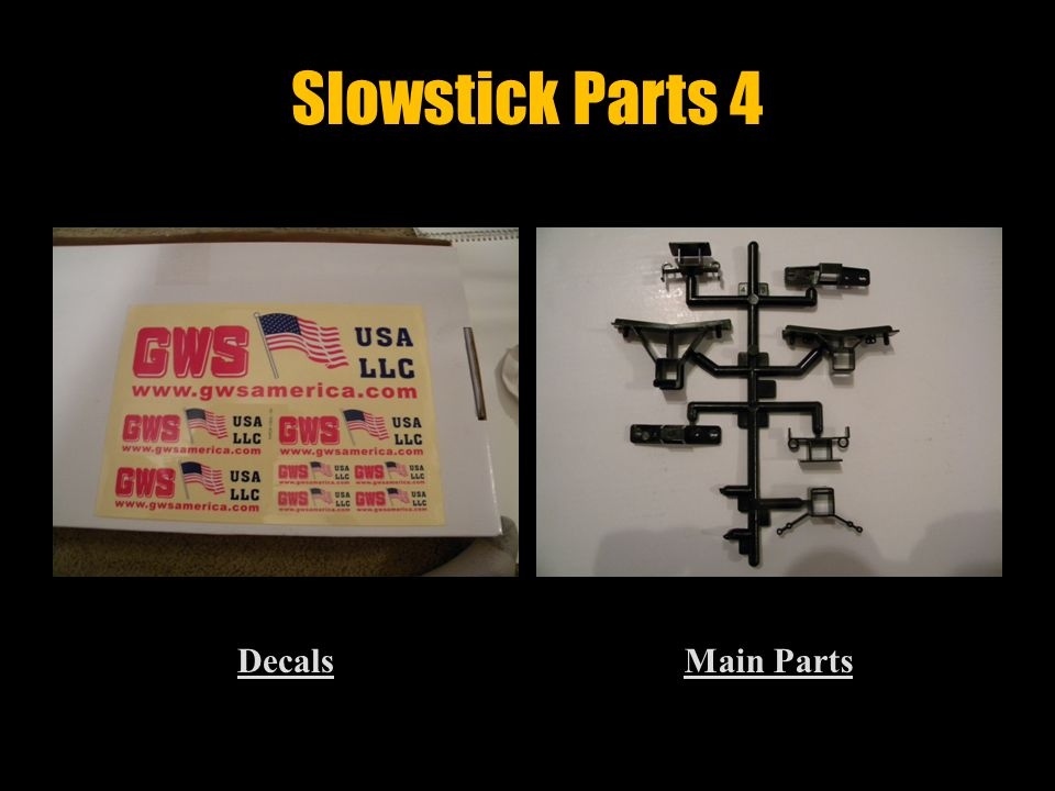 Slowstick Parts 3 Main Gear SupportWheel