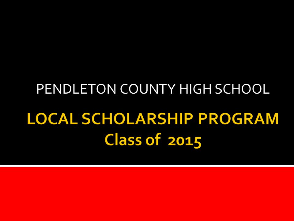 PENDLETON COUNTY HIGH SCHOOL