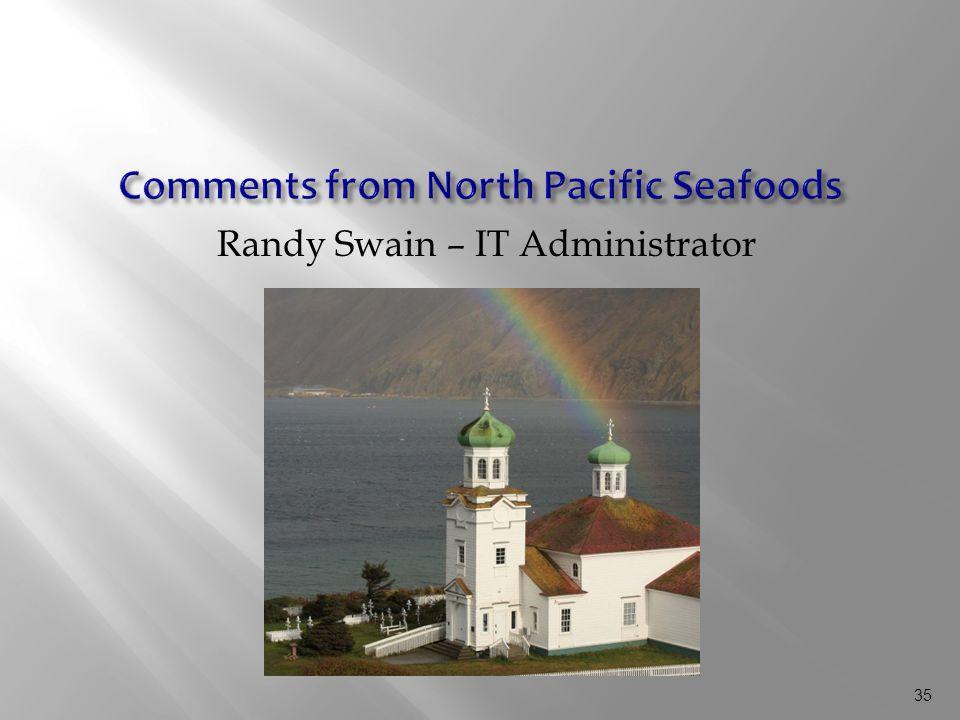 35 Randy Swain – IT Administrator