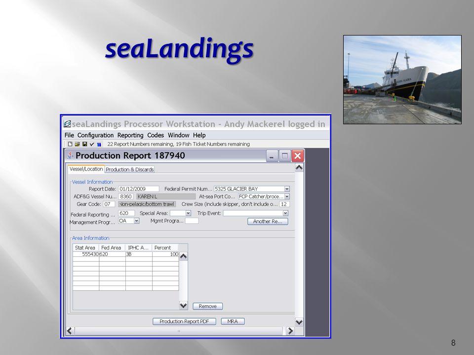 8 seaLandings