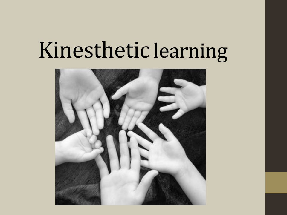 Kinesthetic learning