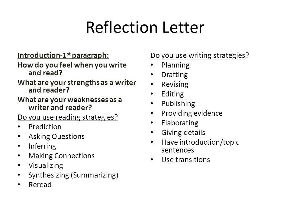 Strengths as a writer essay