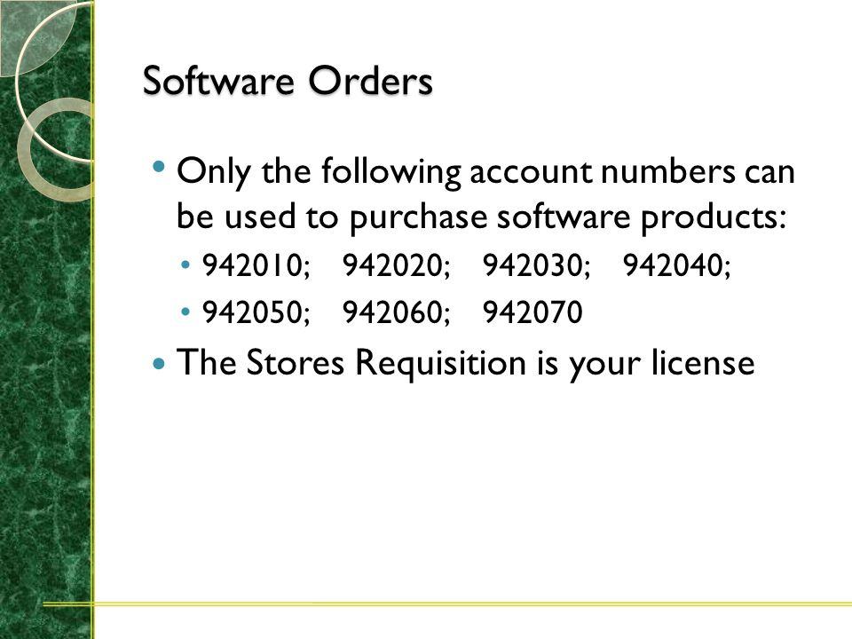Software Orders The University has obtained a liberal site license for all of the latest Microsoft, Adobe and Macromedia software. You have 2 options