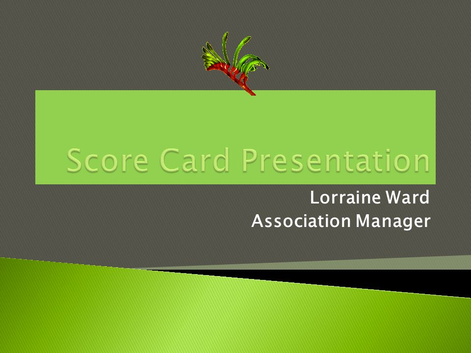 Lorraine Ward Association Manager