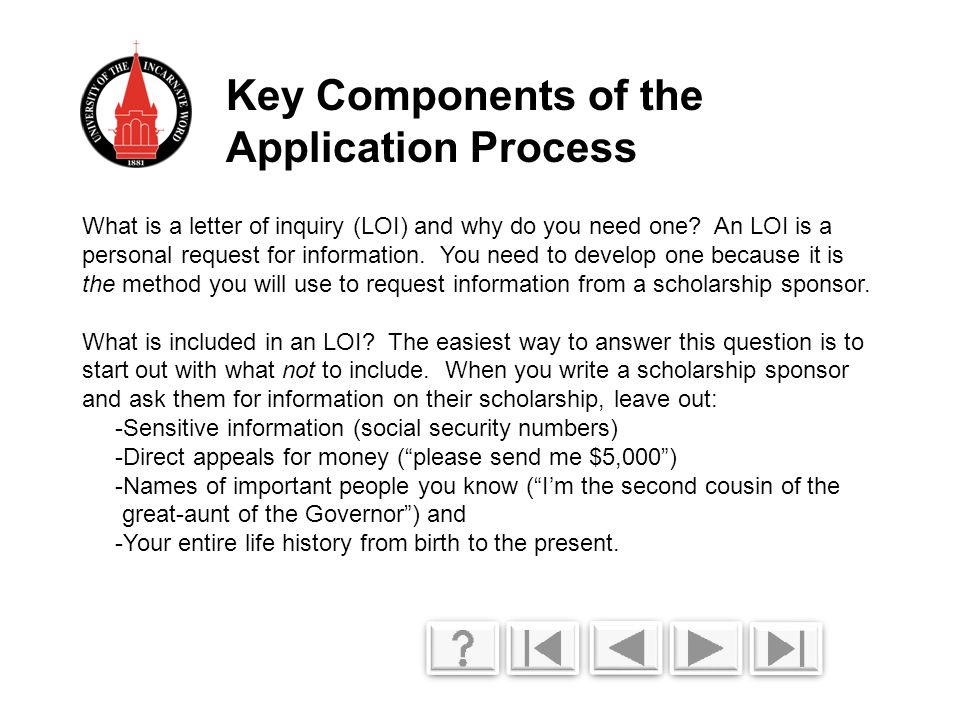 What is a letter of inquiry (LOI) and why do you need one.