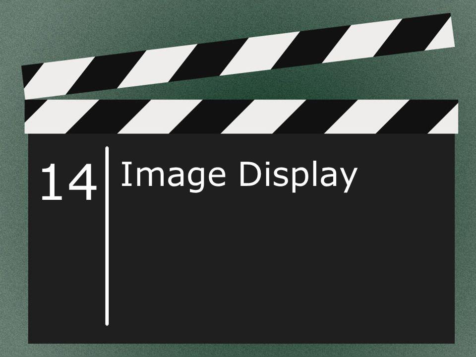 14 Image Display