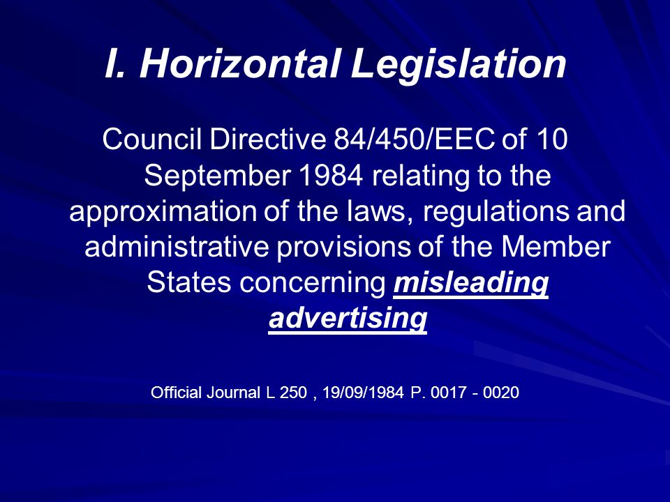 Advertising on medicinal products Article 2 The provisions of this Directive shall apply to industrially produced medicinal products for human use intended to be placed on the market in Member States.