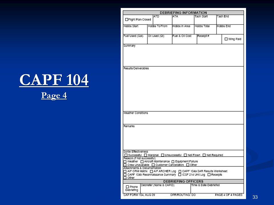 33 CAPF 104 Page 4