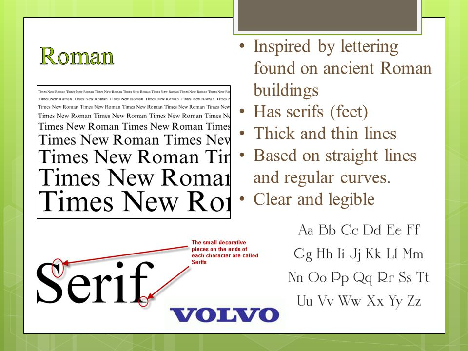 Slanted and stylized version of a typeface Allowed printers to get more letters of the same font on a line = saves $$$$ Now it is used to emphasis certain words or phrases in text.