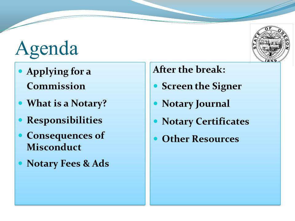 Certificates Issued by Secretary of State Certificate of Good Standing Certifies that the notary is in good standing.