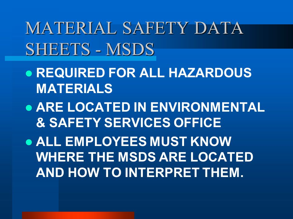 REGULATIONS 29 CFR 1910.1200 IS THE NUMBER ONE CITED REGULATION BY OSHA and / or MIOSHA
