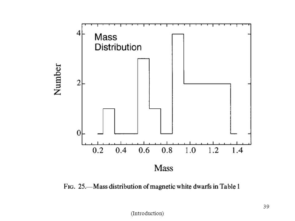 Lecture 1: White Dwarfs (Introduction) 39