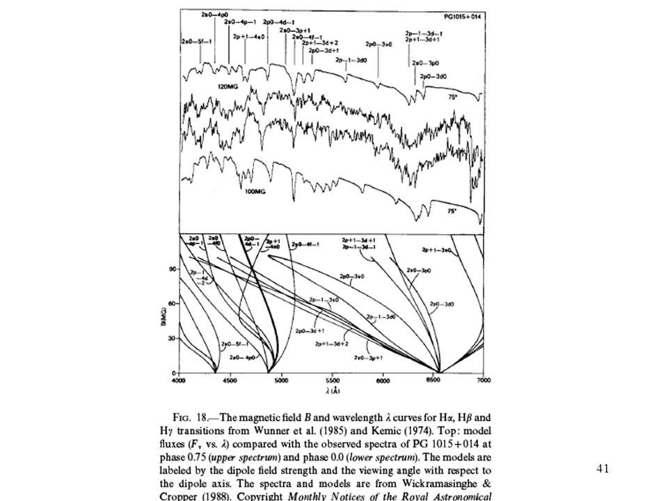 Lecture 1: White Dwarfs (Introduction) 41