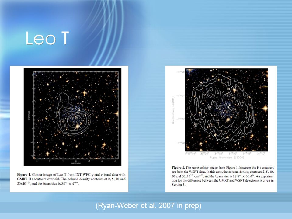 Non-detections & Confident Detections Additional galaxies not detected: Cetus, Sextans, Leo I, And III, And V, And VI, Leo II, Leo IV, Ursa Minor, Draco, and Sagittarius.